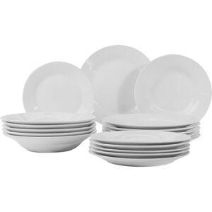 18dílná porcelánová jídelní sada