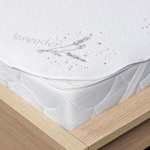 4Home Lavender Chránič matrace s gumou, 90 x 200 cm