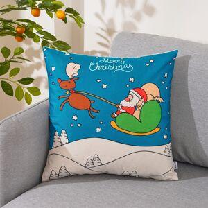 4Home Vánoční povlak na polštářek Rudolph, 45 x 45 cm