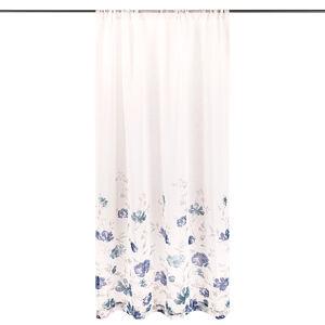 4Home Závěs Floral modrá, 140 x 245 cm