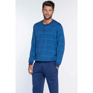 GUASCH Pánské pyžamo LEONARDO Modrá S
