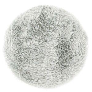 AmeliaHome Kožešina Dokka šedá, pr. 60 cm