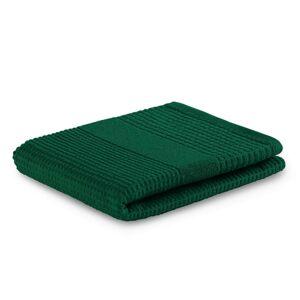 AmeliaHome Osuška Plano tmavě zelená, 70 x 140 cm, 70 x 140 cm