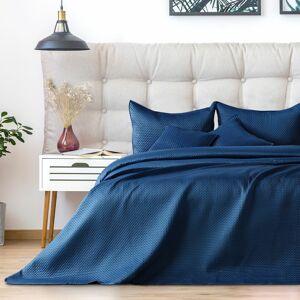 AmeliaHome Přehoz na postel Carmen darkblue, 220 x 240 cm