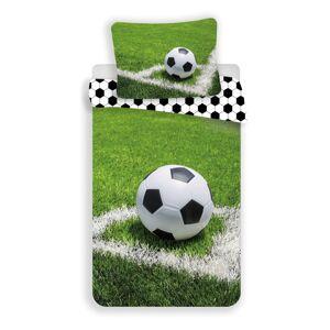 Jerry Fabrics Bavlněné povlečení Fotbalový míč, 140 x 200 cm, 70 x 90 cm