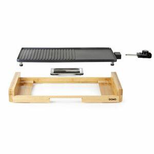 DOMO DO8311TP elektrický stolní gril - bambusový