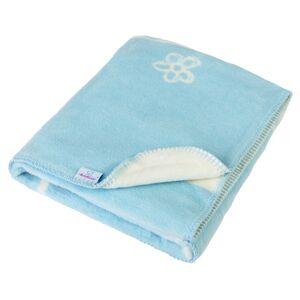 Babymatex Dětská deka Teddy modrá, 75 x 100 cm