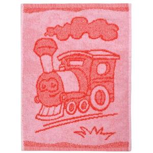 Profod Dětský ručník Train red, 30 x 50 cm