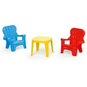 Dolu Dětský zahradní nábytek, stůl a 2 křesla