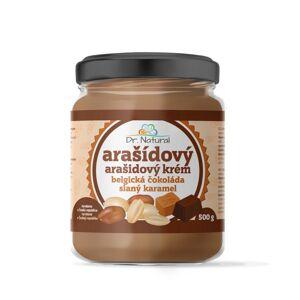 Dr.Natural Arašídový krém belgická čokoláda slaný karamel, 500 g