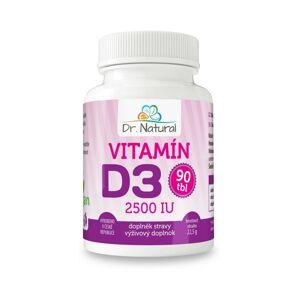 Dr.Natural Vitamín D3 2500, 90 tbl.