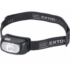 EXTOL - LIGHT Nabíjecí čelovka CREE XPG, 130 lm