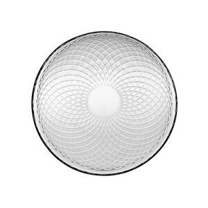Florina Sada skleněných talířů Rozeta 17 cm, 6 ks