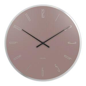 Karllson 5800PI designové nástěnné hodiny, pr. 40 cm