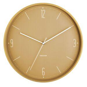 Karlsson 5735YE designové nástěnné hodiny, pr. 40 cm
