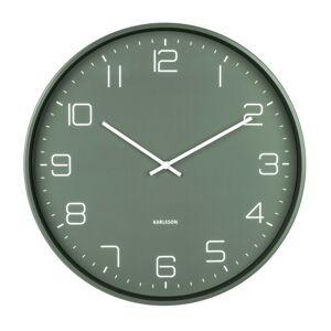 Karlsson 5751GR designové nástěnné hodiny, pr. 40 cm