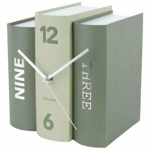 Karlsson 5756GR designové stolní hodiny, 20 x 15 x 20 cm