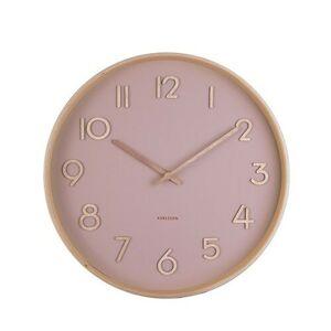 Karlsson 5757PI designové nástěnné hodiny, pr. 40 cm