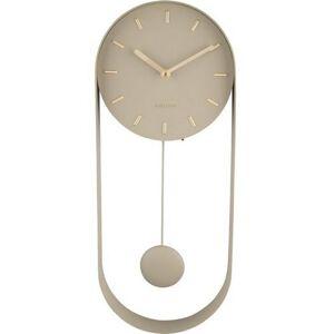 Karlsson 5822OG designové kyvadlové nástěnné hodiny, 50 cm