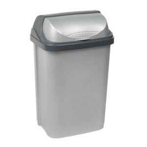 Keeper Odpadkový koš Rooltop 25 l, stříbrná