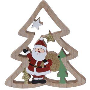 Koopman Vánoční dekorace Santa's tree, 17 cm