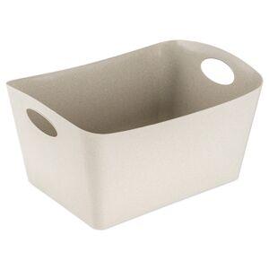 Koziol Úložný box Boxxx L Organic béžová, 15 l, 31 x 48 x 23,7 cm