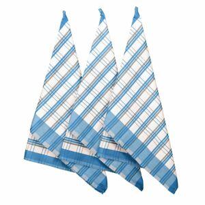 Forbyt Kuchyňská utěrka Blue, 50 x 70 cm, sada 3 ks