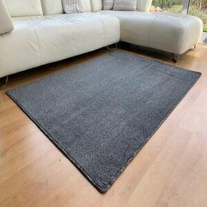 Vopi Kusový koberec Capri antracit, 120 x 170 cm