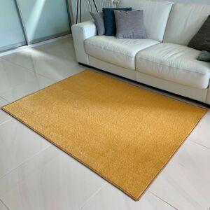 Vopi Kusový koberec Eton lux žlutá, 60 x 110 cm
