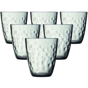 Luminarc Sada sklenic CONCEPTO PEPITE 310 ml, 6 ks, šedá