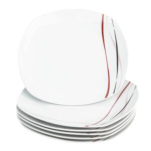 Mäser 6dílná sada mělkých talířů Amelie, 25 cm