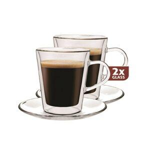 Maxxo Lungo 2dílná sada termo sklenic, 220 ml