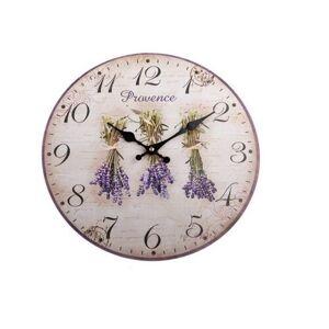 Nástěnné hodiny Provence, 34 cm