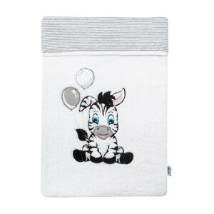 New Baby Dětská zimní deka Zebra 110 x 90 cm