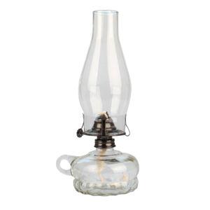 Petrolejová lampa, transparentní