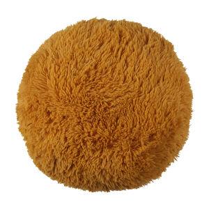 Bo-ma Trading Polštářek chlupatý Jáchym hořčicová, 70 cm