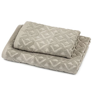 Trade Concept Sada Rio ručník a osuška šedá, 50 x 100 cm, 70 x 140 cm