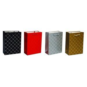 Sada luxusních dárkových tašek 17 x 23 x 8 cm, 4 ks