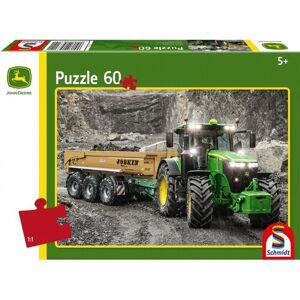 Schmidt Puzzle Traktor John Deere 7310R, 60 dílků