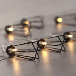 Světelný řetěz do interiéru Industry, 1,65 m