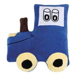 Bellatex Tvarovaný polštářek Traktor modrá, 45 x 30 cm