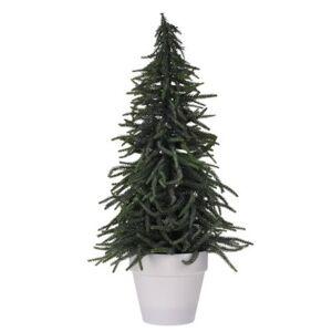 Vánoční stromek v květináči Tarent 58 cm, zelená