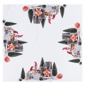 BO-MA Trading Vánoční ubrus Adventní svícen, 85 x 85 cm