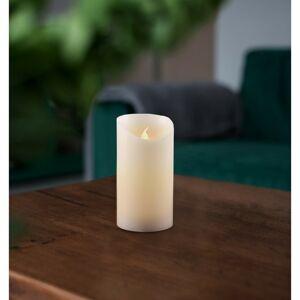 Vosková LED svíčka, 7,5 x 12,5 cm