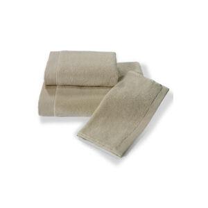 Soft Cotton Dárková sada ručník a osuška MICRO COTTON Světle béžová