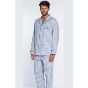 GUASCH Pánské pyžamo OCTAVIO Světle modrá L