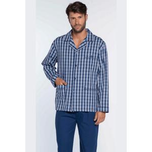 GUASCH Pánské pyžamo ERNESTO Tmavě modrá L