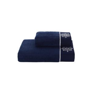 Soft Cotton Sada Ručníků MARINE LADY 50x100 cm + 85x150 cm Tmavě modrá