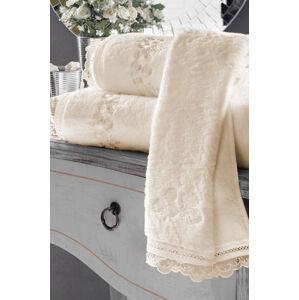 Soft Cotton Malé ručník LUNA, 3x 32x50cm Smetanová