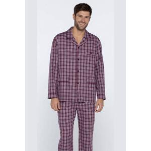 GUASCH Pánské pyžamo ROLANDO Bordó S
